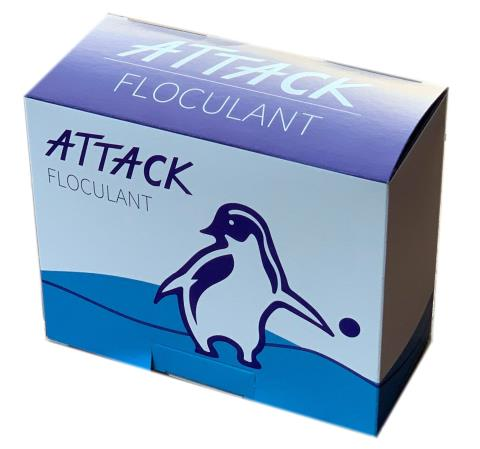 Floculant - ATTACK Kartuš 8ks - 1Kg
